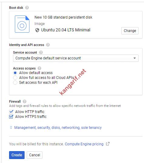 cara menggunakan google cloud