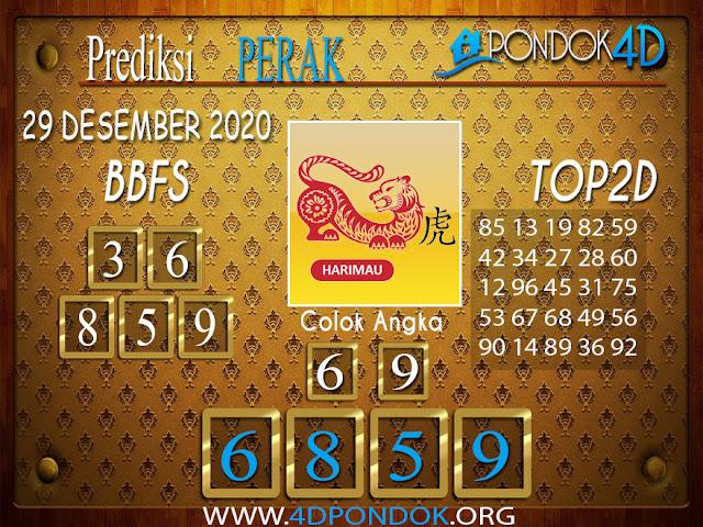 Prediksi Togel PERAK PONDOK4D 29 DESEMBER 2020
