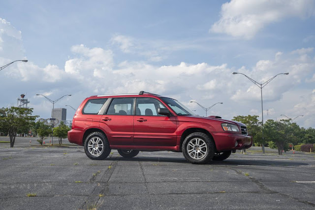 Rally Dreams: 2005 Subaru Forester XT