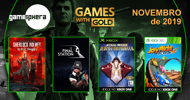 Games With Gold - Novembro de 2019
