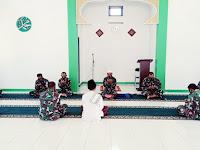 Jelang Peringatan HUT TNI ke 76 tahun 2021 Lanal Nias laksanakan Doa Bersama