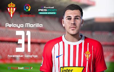 PES 2021 Faces Pelayo Morilla by CongNgo
