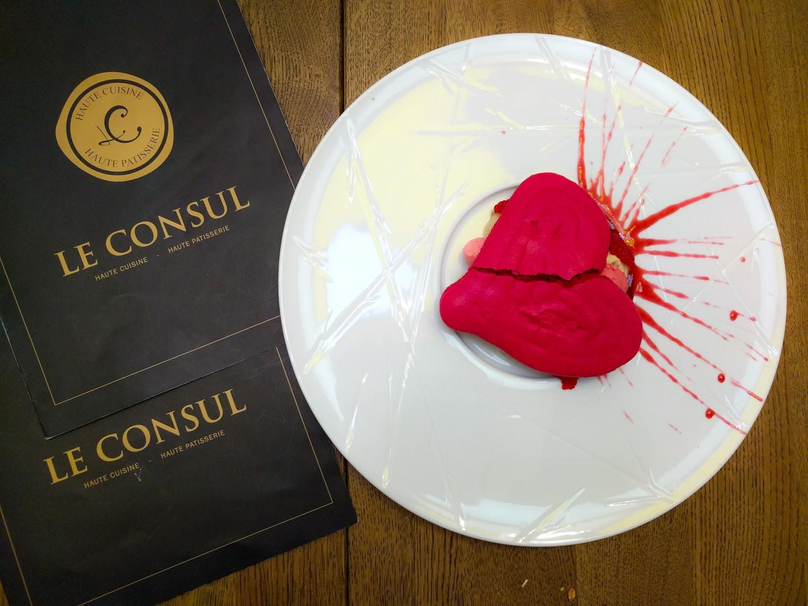 Le Consul - Haute Cuisine, Haute Patisserie