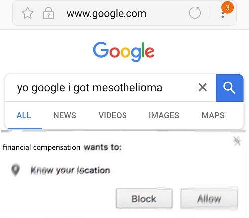 mesothelioma meme lyrics