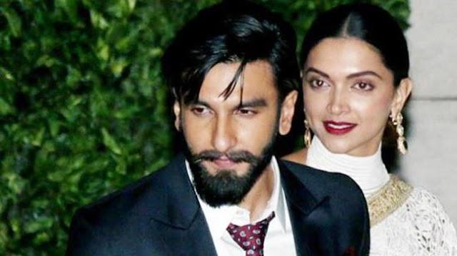 Deepika and Ranveer Singh leave for their destination wedding