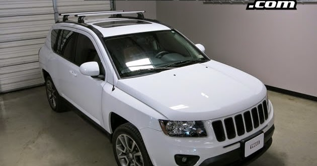 rack outfitters jeep compass thule rapid podium aeroblade roof rack 11 15
