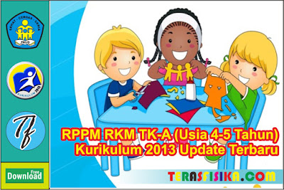 RPPM RKM TK A (4-5 Tahun) K13 Semester 1