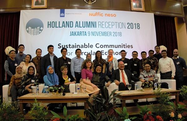 Holland Alumni Reception 2018