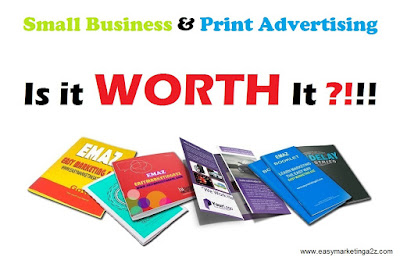 Print advertising in Small Business