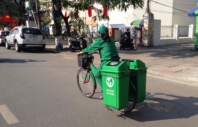Thu gom xử lý rác thải, đảm bảo mỹ quan đô thị thành phố