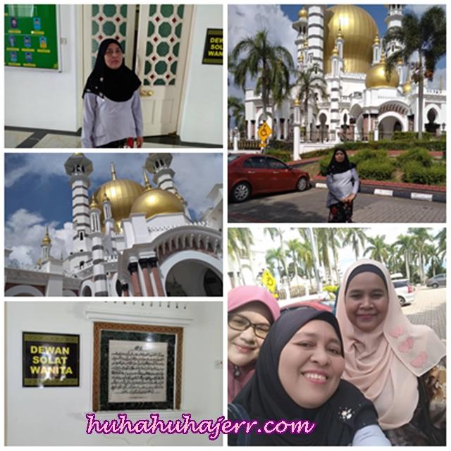 Dapat Juga Merasa Solat Di Masjid Diraja Kuala Kangsar @ Masjid Ubudiah