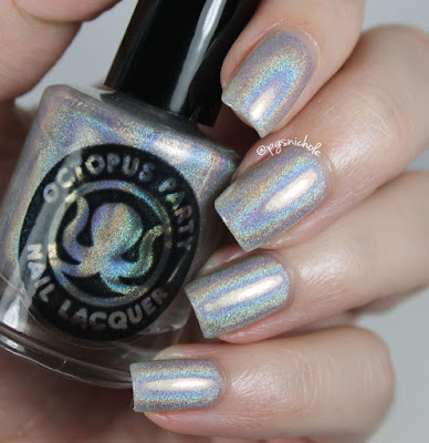 Octopus Party Nail Lacquer Crown of Queen Elizabeth