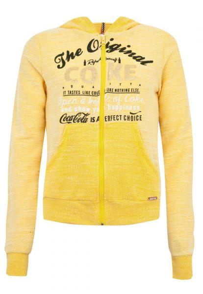 Coca-Cola Jeans Blusa Coca-Cola Clothing Slim Choice Amarela