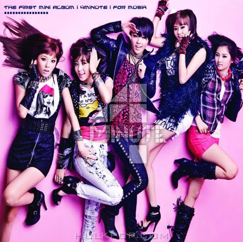 4Minute – For Muzik – The 1st Mini Album (ITUNES PLUS AAC M4A)