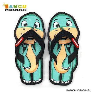 Sandal Sancu Motif Dino