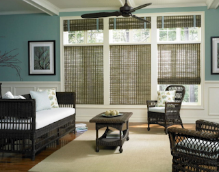 Choosing curtains and blinds for different rooms
