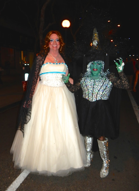 Oz Glinda Wicked Witch costumes West Hollywood Halloween