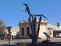BIG Things South Australia | BIG Goanna in Crystal Brook