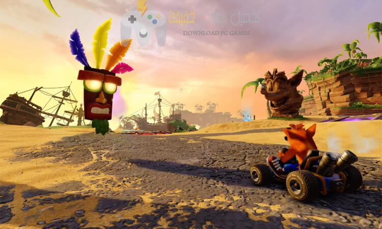 تحميل لعبة كراش Crash Team Racing للكمبيوتر