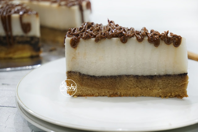 Pudding Cake Moka Durian #KreasiResepDurian #Nutrijell #ManiakDurian