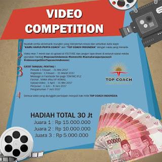 Kontes Video Top Coach Indonesia Berhadiah Total 30 Juta Rupiah
