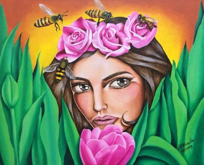 Филиппинский художник. Ella Elenzano Orencillo