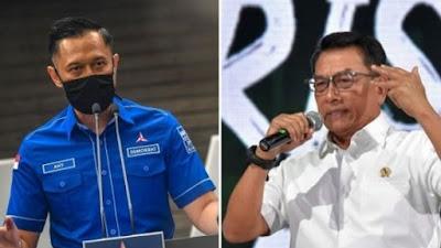 Netizen Pilih AHY Ketimbang Moeldoko