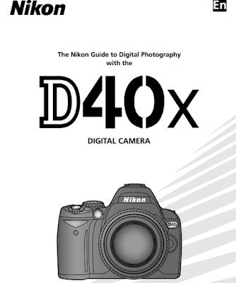 Nikon D40X Manual