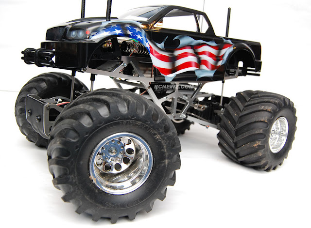 Tamiya TXT-1 custom paint job