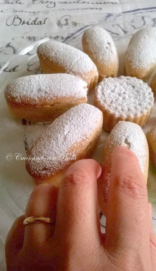 Cucinando Con Paola Tortine Pan Darancio Allacqua Con Farina