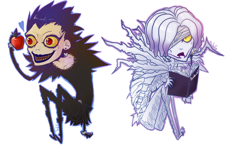death note rem and ryuk - photo #1