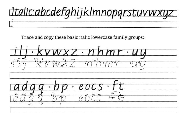 Improve Cursive Handwriting  Hand Writing