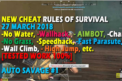 Cheat Rules of Survival Treonin 4.0 Update 27 Maret 2018