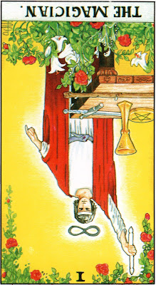 The Magician Reversed Tarot Card Meaning- Major Arcana