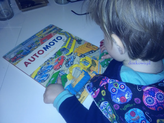 AUTO MOTO - Przygody z książką 4 (luty)