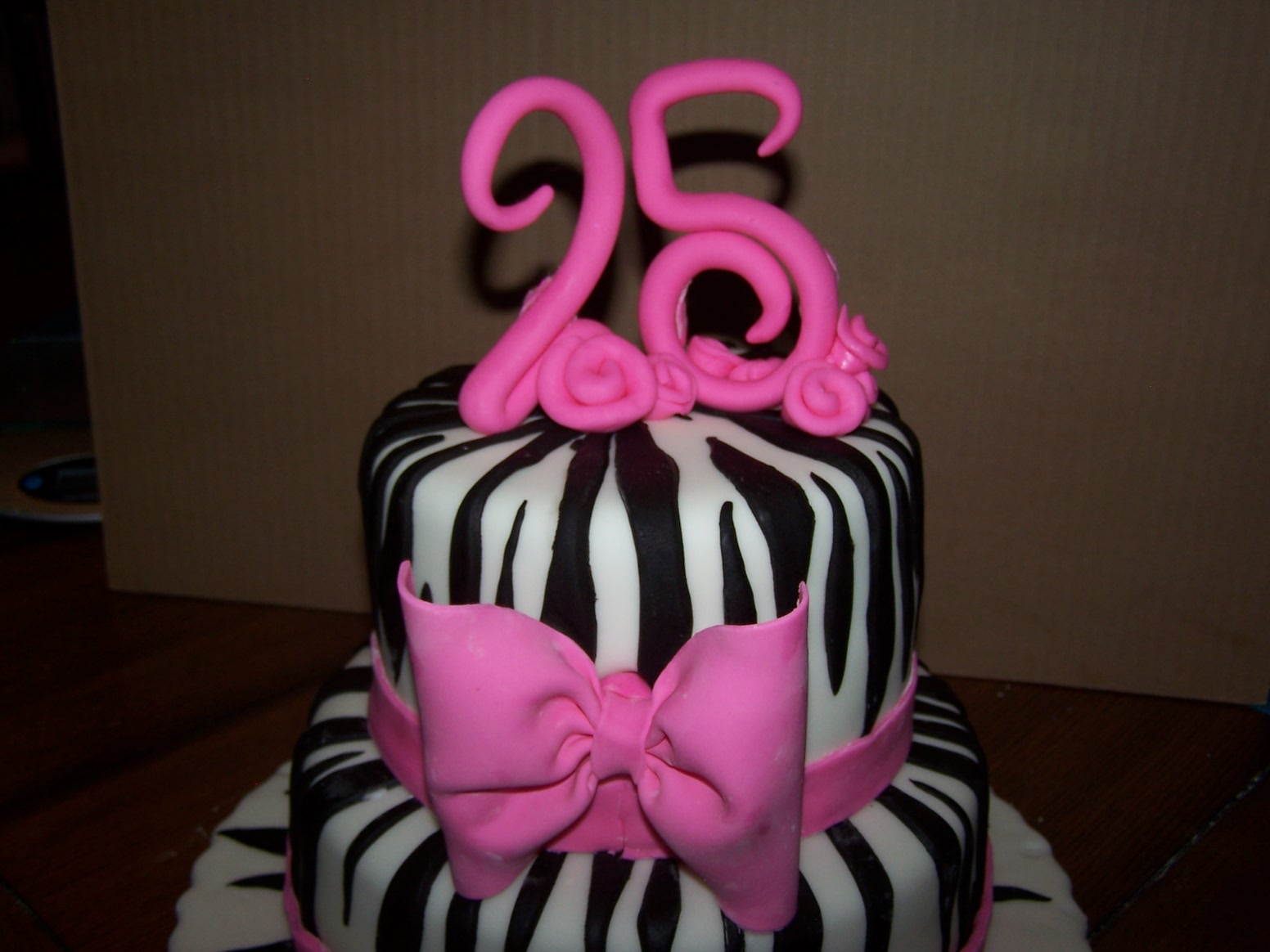 Happy 25th Birthday Cake Ideas 12930 Cake Birthday Cakes W