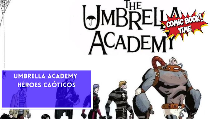 'Umbrella Academy', héroes caóticos