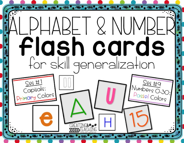 https://www.teacherspayteachers.com/Product/Differentiated-Letter-and-Number-Flash-Cards-2975583