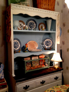 beautiful hutch makeover