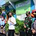Presiden Jokowi Sidak Lokasi PPKM Mikro di Rawasari