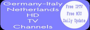 Netherlands NPO Italy RAI Sky Select Germany Free IPTV