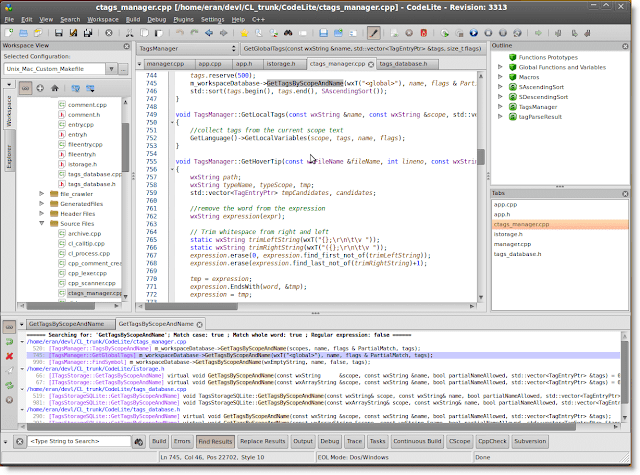 CodeLite IDE