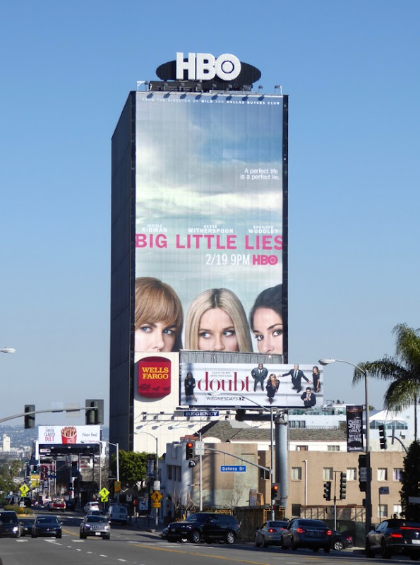 Giant Big Little Lies series billboard