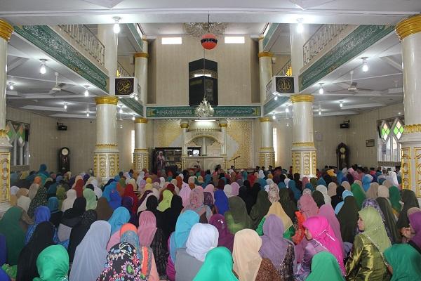 Acara BKMT Se-Kecamatan IV Koto yang Berlangsung di Mesjid Jami' Rambuti