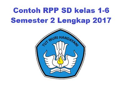 Download Berkas Rpp Guru SD/MI Kelas I-VI 2017