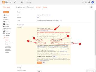 cara merubah domain blog gratis9