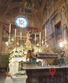 Reliquiario nella Cappella della Sacra Cintola - Duomo di Prato