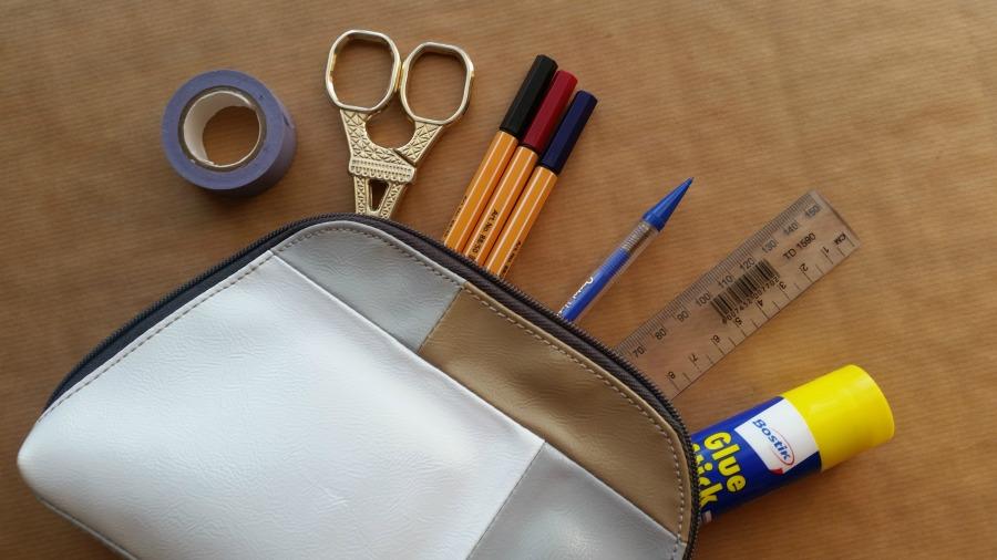 diy smashbook scrapbook journal kit on the go