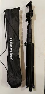 "An image of Ubeesize 51"" Multi-Purpose Tripod/Selfie Stick with Bluetooth Remote"