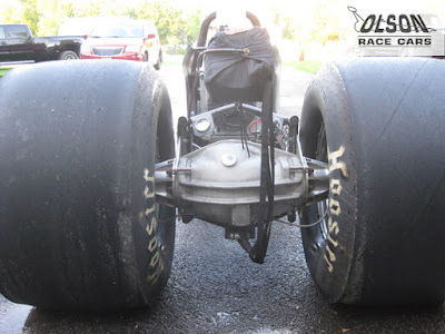 Big Meats on Rear Engine Dragster